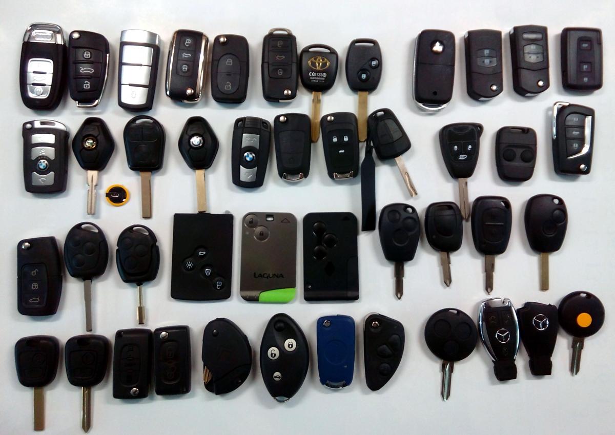 Автоключове за всички видове автомобили